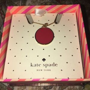 Kate Spade Paint The Town Red Necklace